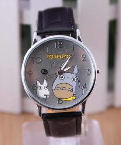 На картинке часы «Тоторо» (Totoro), вид спереди.