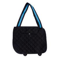 На картинке сумки 2д, вид сзади, цвет голубой.
