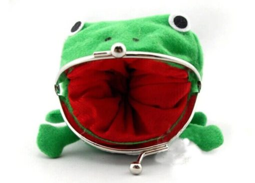 На картинке кошелек лягушка Наруто (Naruto), вид спереди.