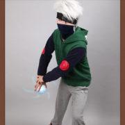 Толстовка из Наруто в виде костюма Какаши фото
