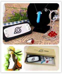 На картинке набор Наруто (Naruto), общий вид.