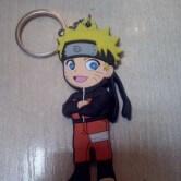 На картинке брелок в виде Наруто (Naruto).