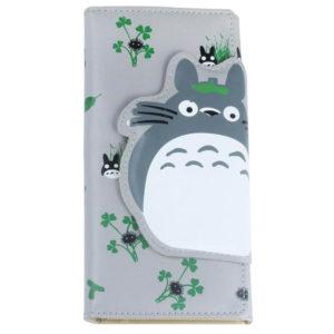 На картинке кошелек «Тоторо» (Totoro), вид спереди.