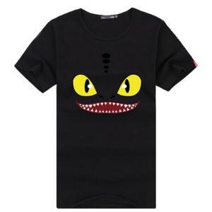 На картинке футболка «Ночная Фурия» (Как приручить дракона), вид спереди.