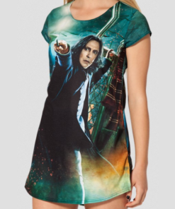 На картинке футболка Северус Снейп (Гарри Поттер), вид спереди.