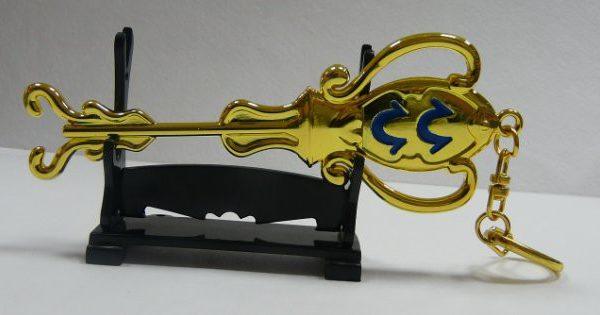 На картинке ключ талисман Водолея (Хвост феи), общий вид.