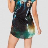 На картинке футболка Северус Снейп (Гарри Поттер), вид сзади.