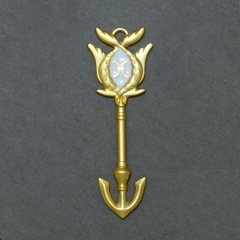 На картинке ключ Рыбы (Хвост феи), общий вид.