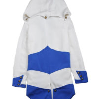 На картинке куртка ассасина Коннора (Ассасин крид) Assassins creed, вид сзади.