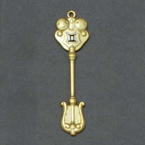 На картинке ключ Близнецов (Хвост феи), общий вид.