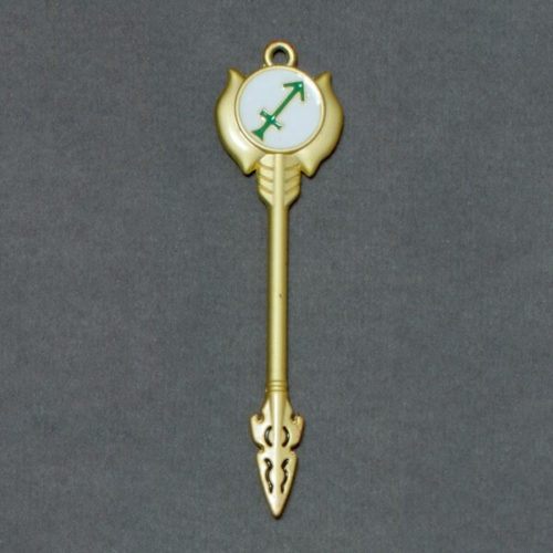 На картинке ключ Стрельца (Хвост феи), общий вид.