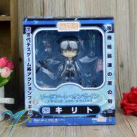 На картинке нендроид Кирито «Sword Art Online», общий вид в упаковке.