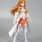 На картинке фигурка «Асуна» подвижная (Sword Art Online), общий вид.