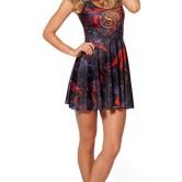 На картинке платье «Герб Таргариенов» (Игра престолов), вид спереди.