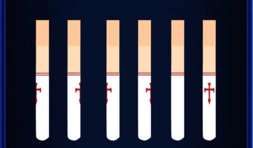 На картинке модные колготки с имитацией чулков «Асуна» (Sword Art Online).