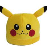 На картинке шапка «Пикачу» (Покемоны) 2 варианта, вид спереди.