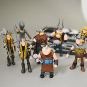 Фигурки героев из мультфильма «Как приручить дракона 2″ фото