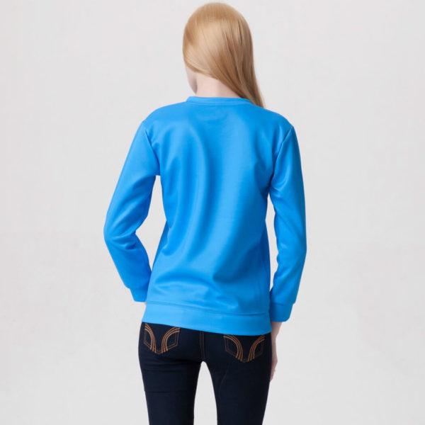 На картинке свитшот-кофта «Джейк в кармане» Время приключений (Adventure time), вид сзади.