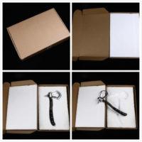 На картинке клинок томагавк-топор Коннора (Ассасин Крид), общий вид в коробке.