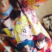 Свитшот «Сейлормун» (Sailor moon) фото