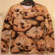 На картинке свитшот «Печенье», вид спереди.