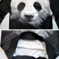 На картинке свитшот с пандой (2 варианта), детали.