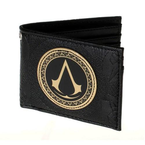 На картинке кошелек Аssassins creed (Ассасин крид), вид спереди.