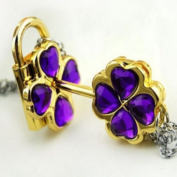На картинке ключ и замок «Чара хранители», цвет фиолетовый.