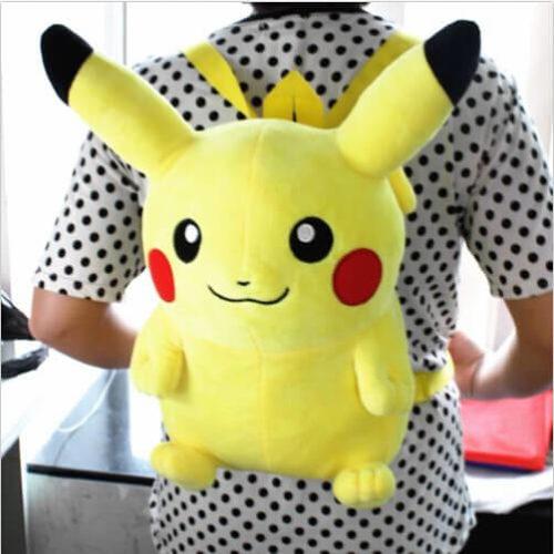 На картинке рюкзак «Пикачу» (Покемоны), общий вид.