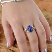 Кольцо Елены Гилберт серебро 925 (Дневники вампира) фото