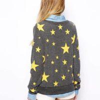 Cвитшот «Звезды» фото