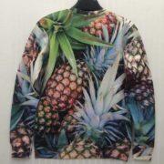 Свитшот с ананасами фото