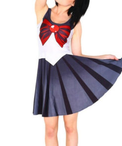 На картинке платье Сейлормун (Сейлор мун) 9 вариантов, вариант - Сейлор Плутон.