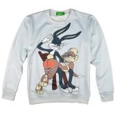 На картинке свитшот кролик Багз Банни с крольчихой (bugs bunny), вид спереди.