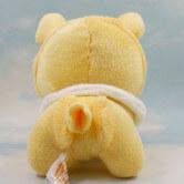 На картинке мягкая игрушка покемон Джолтеон (Jolteon) 3 варианта, вид сзади.