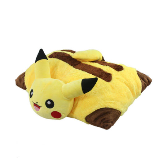 На картинке подушка Пикачу (Покемон), общий вид.