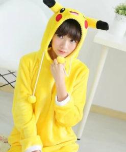 На картинке косплей платье «Пикачу» (Покемоны), общий вид.