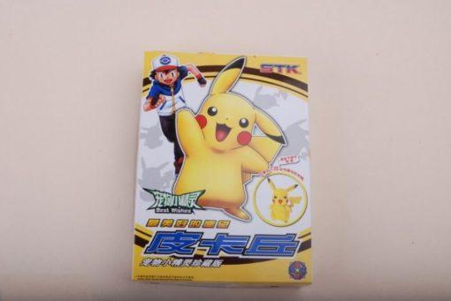 На картинке фигурка «Пикачу» (Покемоны), упаковка.