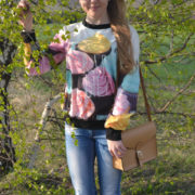 Свитшот с кексами (женский) фото