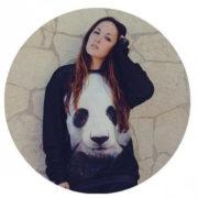 Свитшот с пандой (2 варианта) фото