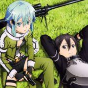 Фигурка Синон подвижная (Sword Art Online) кадр из аниме