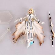 Фигурка Fate Zero Сейбер в свадебном платье (подвижная) фото