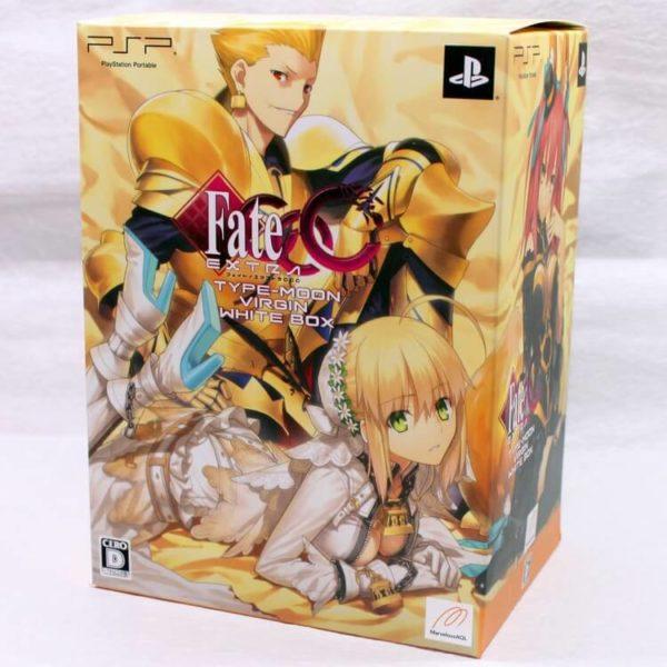 На картинке фигурка Fate Zero Сейбер в свадебном платье (подвижная), коробка.