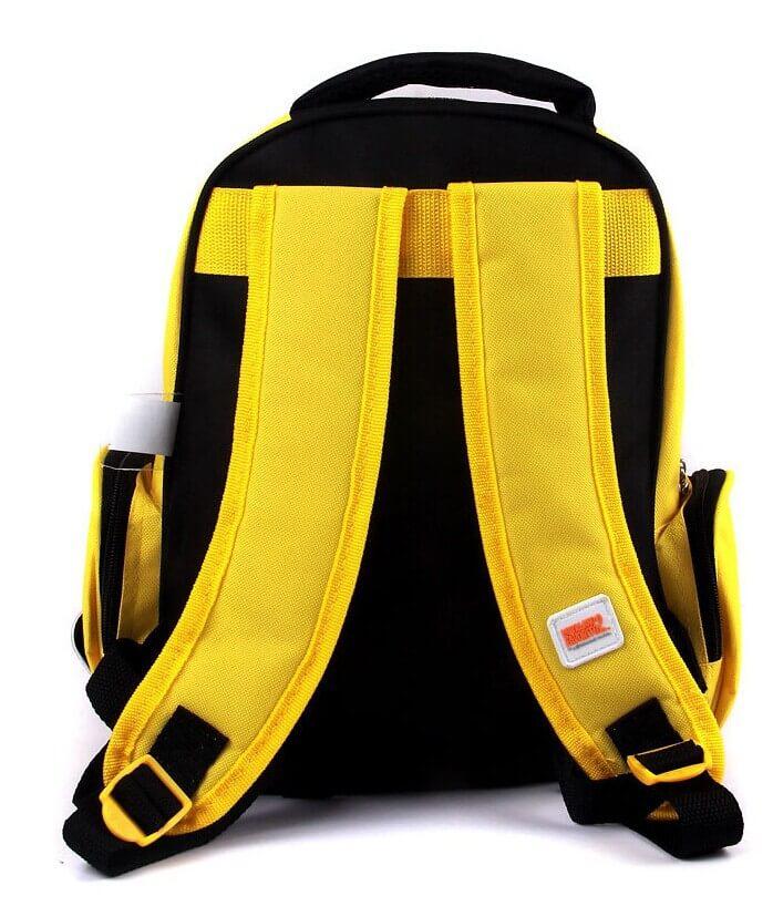На картинке рюкзак в виде Миньона (Гадкий Я), вид сзади.