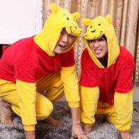 На картинке пижама-кигуруми «Винни-Пух» (Дисней), общий вид.