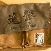 На картинке сумка «Атака титанов», вид спереди.