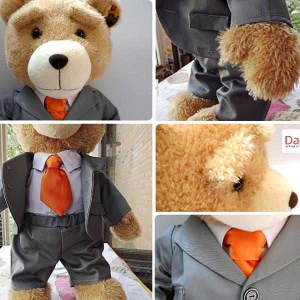 На картинке игрушка медведь Ted из фильма «Третий лишний» (toys), детали.