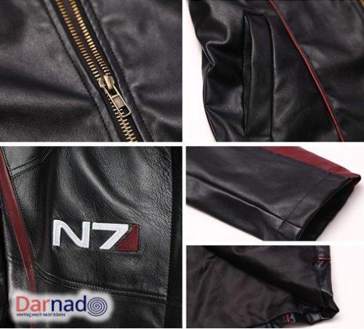 На картинке куртка N7 Mass effect (Масс эффект), детали.