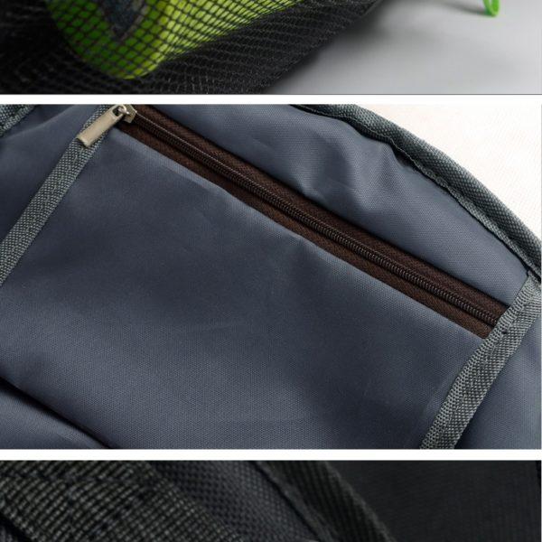 На картинке рюкзак «Блич», детали.