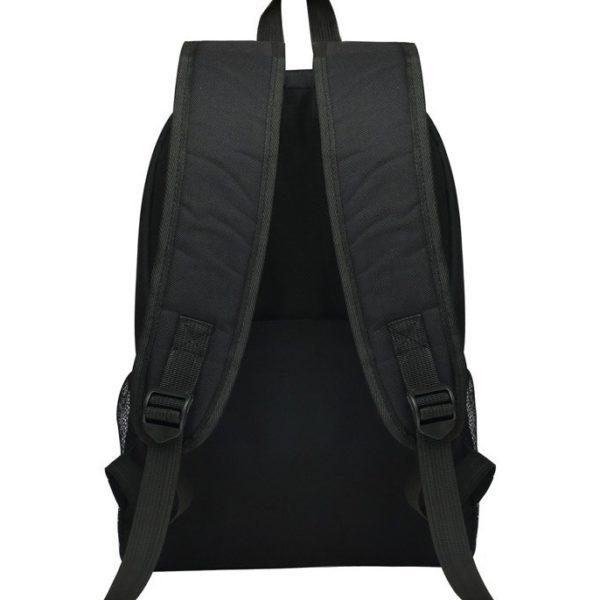 На картинке рюкзак «Блич», вид сзади.